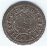 ESPAGNE 16 Maravedis Philippe IV 1663 Segovia - Erstausgaben