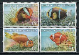 Papua New Guinea 1987 / Fishes MNH Fische Poisson Peces / Cu4427  40-45 - Peces
