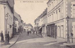 (16)   MERVILLE - La Rue Centrale - Merville