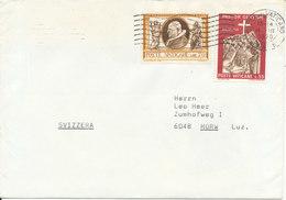 Vatican Cover Sent To Switzerland 14-3-1970 - Vatican