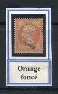 FRANCE- Y&T N°23- Orange Foncé - 1862 Napoléon III.
