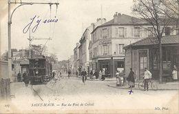 CPA Saint-Maur Rue Du Pont De Créteil - Saint Maur Des Fosses