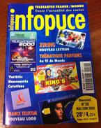 UNE REVUE INFOPUCE N°30 DE 2000 SUR LES TÉLÉCARTE & GSM DE FRANCE & DU MONDE CARTES À PUCE CARTES INTERNET ETC CARD - Telefonkarten