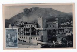 CARTE MAXIMUM - MONACO - N°177A Vues De La Principauté (1943) - Maximum Cards