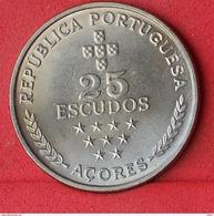 AZORES 25 ESCUDOS 1980 - KM# 43 - (Nº18579) - Azores