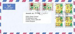 United Arab Emirates UAE 1994 Dubai Children Painting Cover - Verenigde Arabische Emiraten