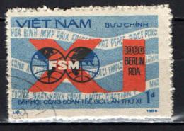 VIETNAM - 1986 - 11th Intl. Trade Unions Congress - USATO - Vietnam