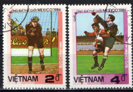 VIETNAM - 1985 - CAMPIONATO MONDIALE DI CALCIO - ARGENTINA 1986 - USATI - Vietnam