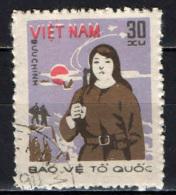 VIETNAM - 1982 - DIFESA NAZIONALE - USATO - Vietnam