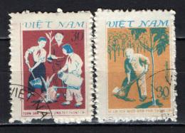 VIETNAM - 1981 - PIANTUMAZIONE DEGLI ALBERI - USATI - Vietnam