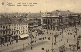 BELGIQUE - ANVERS - ANTWERPEN - Théâtre Flamand Et Avenue D'Italie - Vlaamsh Tooneel En Italialei. - Antwerpen
