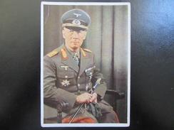 Postkarte Erwin Rommel - Heinrich Hoffmann - RRR - Erhaltung II (siehe Bilder) - Briefe U. Dokumente