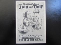 """Postkarte Ausstellung """"Frau Und Volk"""" Düsseldorf - Erhaltung I-II - Allemagne"""