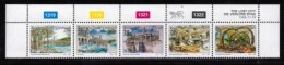 BOPHUTHATSWANA, 1992, Mint Never Hinges Stamps In Control Blocks, MI 285-289, X465, The Lost City - Bophuthatswana