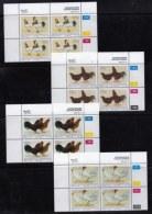 BOPHUTHATSWANA, 1993, Mint Never Hinges Stamps In Control Blocks, MI 290-293, X466, Chickens - Bophuthatswana
