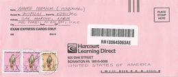 United Arab Emirates UAE 2001 Musafa Eagle Barcoded Registered Cover - Verenigde Arabische Emiraten