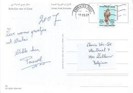 United Arab Emirates UAE 2007 Dubai Eagle Viewcard - Verenigde Arabische Emiraten