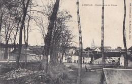 58 ARQUIAN  Route De COSNE  Entrée Du VILLAGE Maisons EGLISE Timbre 1909 - France