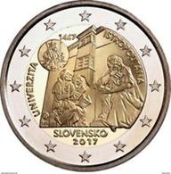 """Pièce 2 Euros Commémorative  UNC Slovaquie 2017   """" ACADEMIE D'ISTROPOLITANO    """" - Slowakei"""