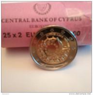 """Pièce Commémorative 2 Euros Chypre 2015 """"  30 Ans Du Drapeau Européen """" - Cyprus"""