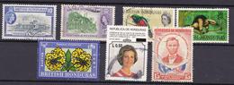 HONDURAS - Restant Britisch En Republiek HONDURAS - Lotje Van  7 Zegels ( °) - Honduras