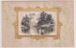 Landschap Met Zwanen - Zeer Oud - Postkaarten
