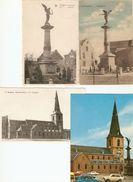 Borgloon : Monument 1ste WO 1914 - 1918  ( 4 Kaarten) - Borgloon