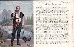 Armailli Fribourgeois Et Chanson Le Ranz Des Vaches (16494) - Musique