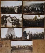 Lot CPA Photo Militaria - Chasseur - Poincaré - Grand Ballon - Monument Diables Bleus - Guebwiller - Vosges - Haut-Rhin - Monuments Aux Morts