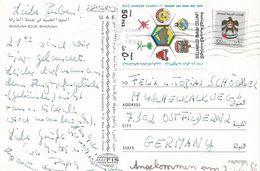 United Arab Emirates UAE 1986 Sjarjah Gulf Supreme Council Politics Viewcard - Verenigde Arabische Emiraten