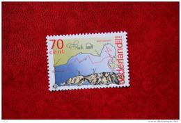 Plan, Map Staete Land, Abel Tasman, Discovery New Ze NVPH 1520 (Mi 1435); 1992 POSTFRIS / MNH ** NEDERLAND / NIEDERLANDE - Period 1980-... (Beatrix)