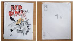Dessin/tekening Red Ryder (Z) - Livres, BD, Revues