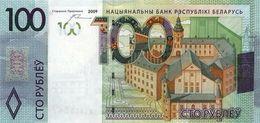 * BELARUS 100 PУБЛЁЎ (RUBLES) 2009 (2016) P-41a UNC  [BY141a] - Belarus