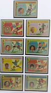 GUINEA Ecuatorial 1974 Football Soccer World Cup Germany 1974 IMPERFORATED Stamps  MNH - 1974 – Germania Ovest
