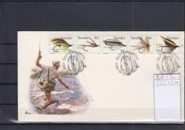 Transkei Michel Cat.No. FDC 83/87 Game Fishing Combo (1) - Transkei