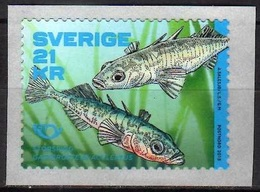 2018 - SVEZIA / SWEDEN - NORDEN / NORDIC - PESCI DEL NORD / FISHES OF THE NORTH. MNH - Svezia