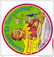Étiquette, Camembert,Fromage,Le Gargantua, - Fromage