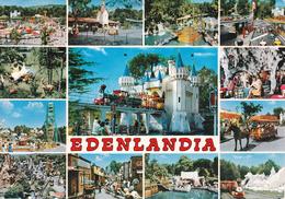 NAPOLI - Mostra D'Oltremare - Edenlandia - La Città Dei Divertimenti - 13 Vedute - 1977 - Napoli (Nepel)