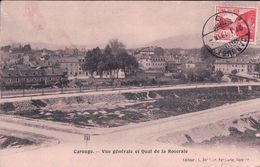 Carouge Genève, Quai De La Roseraie (30898) Traces D'usure Et Pli - GE Ginevra