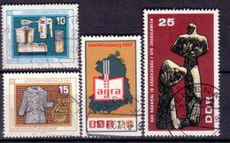 DDR 1967, Lot Aus Mi.Nr. 1292, 1306-1308, 1311, Gestempelt (762) - Usati