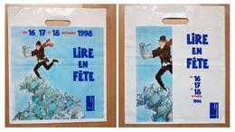 Sac/zak Lire En Fête 16 17 18 Octobre 1998 Jacques Tardi (Ministère Culture Communication) - Zonder Classificatie
