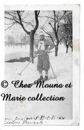 LIMONE PIEMONTE 1936 - CORSO SCIATORI COURSE DE SKI - ITALIE - PHOTO 9.5 X 6 CM - Sports D'hiver