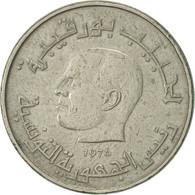 Tunisie, 1/2 Dinar, 1976, Paris, TTB, Copper-nickel, KM:303 - Tunisie
