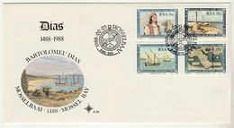 Cover * South Africa * 1988 * Mossel Bay * Bartolomeu Dias - África Del Sur (1961-...)