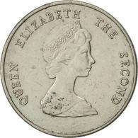 Etats Des Caraibes Orientales, Elizabeth II, 25 Cents, 1981, TTB+ - Caraïbes Orientales (Etats Des)