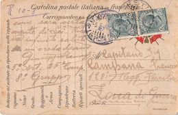 10511 CARTOLINA FRANCHIGIA MESTRE X 120 REGGIMENTO FANTERIA - Paketmarken