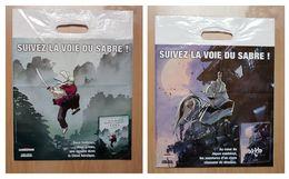 Sac/zak Suivez La Voie Du Sabre! - Le Sabre & L'épée (Boivin) Okko (Hub) [Delcourt] - Livres, BD, Revues