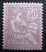 LOT DF/518 - 1902 - TYPE MOUCHON N°128 - NEUF* - Cote : 350,00 € - 1900-02 Mouchon