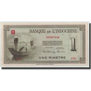 FRENCH INDO-CHINA, 1 Piastre, Undated (1945), KM:76a, SPL - Indochina