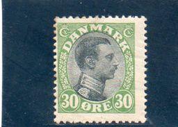 DANEMARK 1919-20 * - 1913-47 (Christian X)